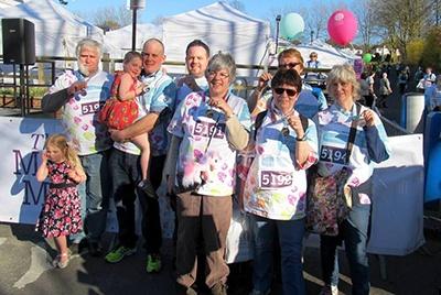 March 2014: Royal Marsden March – Go Team Chloe!